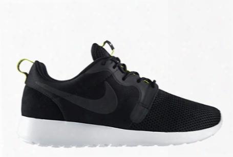 Nike Rosherun Hyperfuse Bl Ack Venom Green