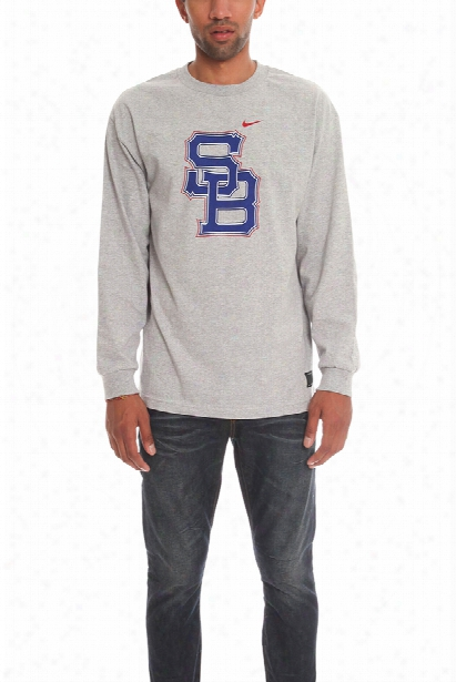 Nike Sb Logo Long Sleeve Tee