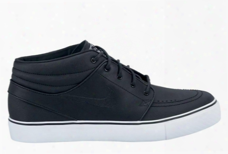"Nike Sb Zoom Stefan Janoski Mid ""mad Black"
