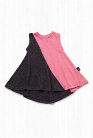Nununu Half & Half Tank Dress