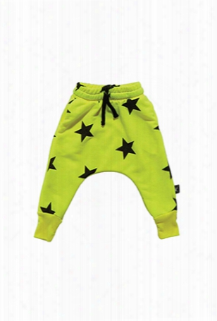 Nununu Neon Star Baggy Pants