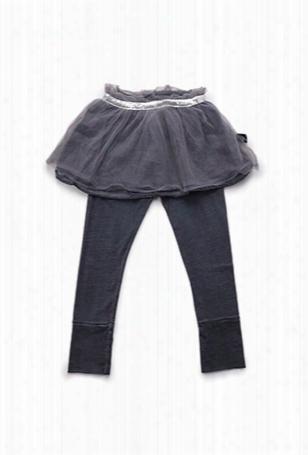 Nununu Tulle Leggings Skirt