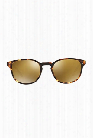 Oliver Peoples Fairmont Sun Gold Mirror