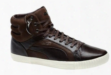 Puma Amq Street Climb Mid Leather Ebony