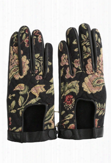 Rag & Bone Chevon Quilted Glove