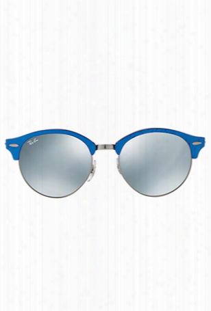 Ray-ban Acetate Unisex 998/2x Top Wrinkled Blue/black