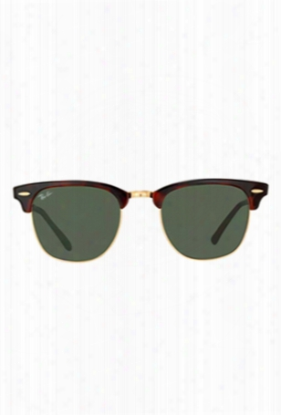 Ray-ban Clubmaster Tortoise/green