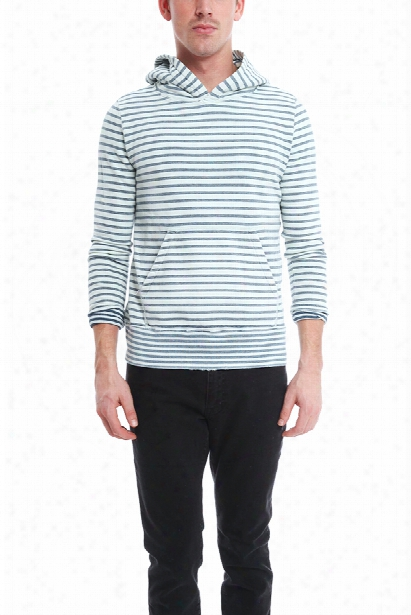 Remi Relief Indigo Border Sweatshirt
