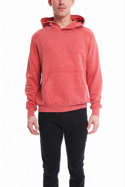 Remi Relief Silk Nep Pullover Hoody