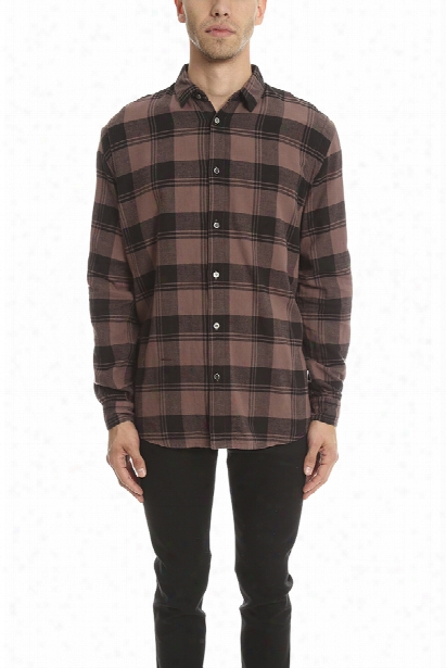 Robert Geller Plaid Dress Shirt