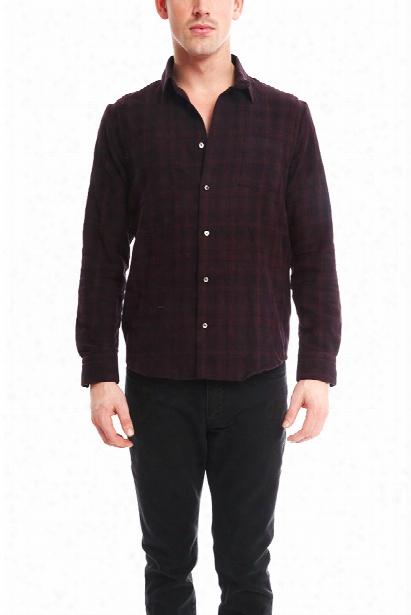 Robert Geller Plaid Shirt