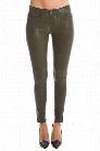 rag & bone/JEAN Washed Leather Skinny Jean