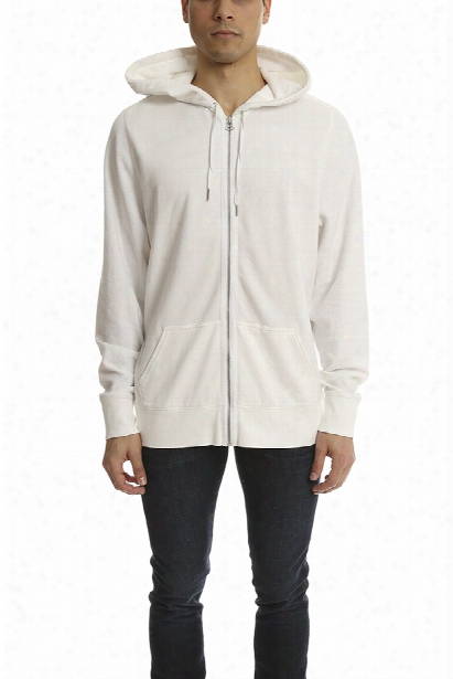Alexander Wang Cotton Poly Zip Sweatshirt