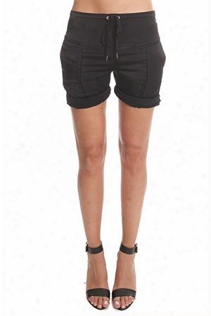 Alexander Wang Silk Shorts With Slot Seam