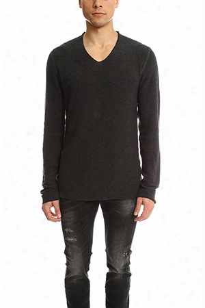 Hannes Roether Copla V Neck Sweater