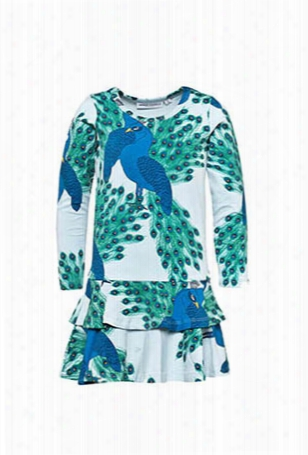 Mini Rodini Peacock Dress