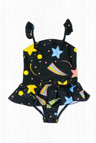 Mini Rodini Space Skirt Swimsuit