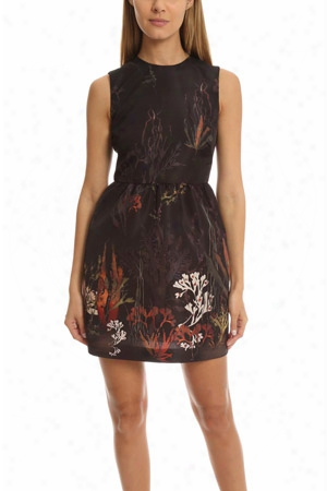 Red Valentino Floral Tank Dress
