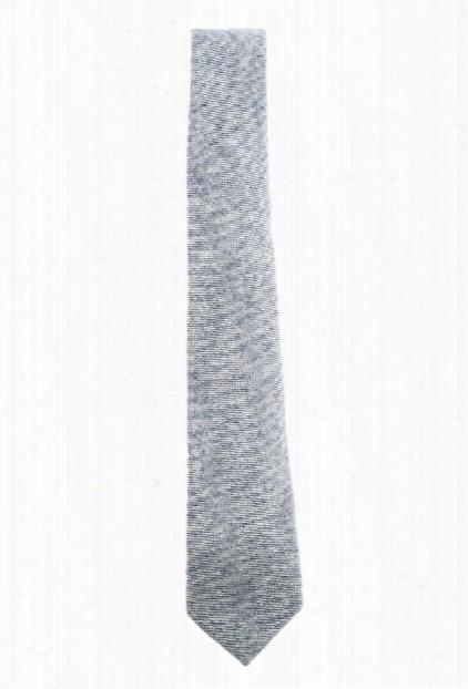 Shipley & Halmos Alfred Blue Birdseye Tie