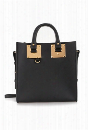 Sophie Hulme Large Albion Square Tote