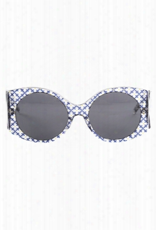 Stella Mccartney Rectangle Trans Orcirbl 2050/87 Sunglasses