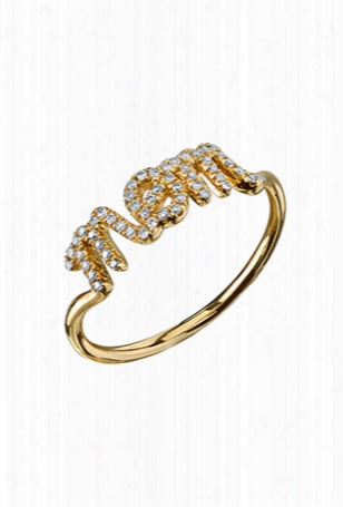 Sydney Evan Pave Mom Ring