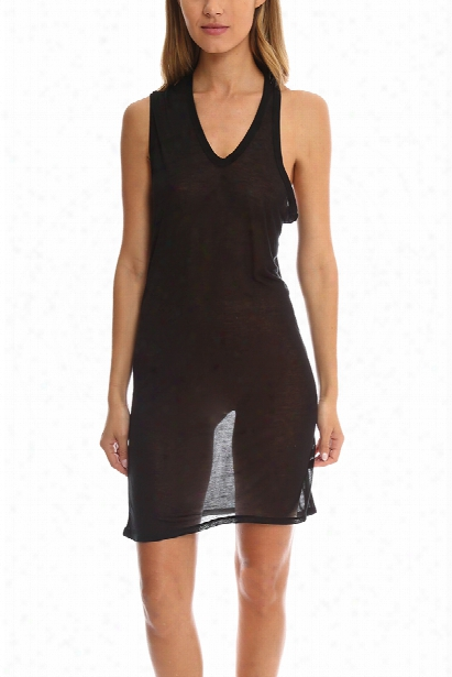 T By Alexander Wang 1 Shoulder Tank Dress