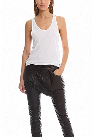T By Alexander Wang Fitted Tank
