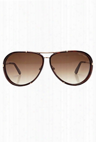 Tom Ford Cyrille Aviator Sunglasses