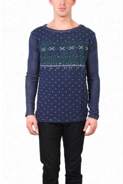 Via Spare Print Sweater