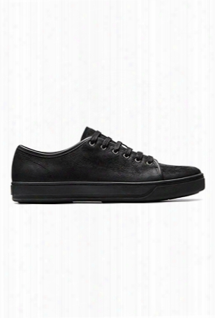 Vince Ajstin Waxed Leather Sneaker
