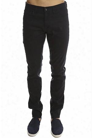 Vince Linen 5-pocket Soho Trouser