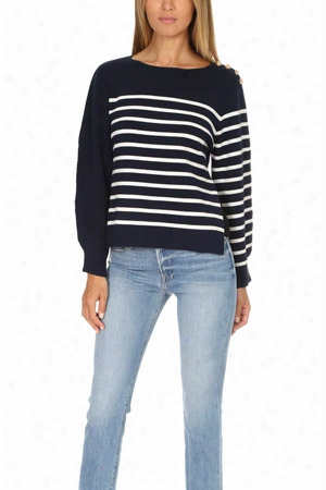 3.1 Phillip Lim Sailor Pullover With Silk Back