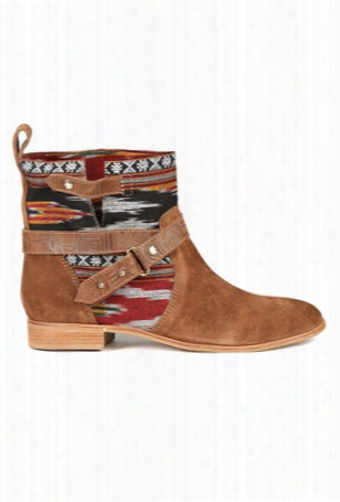 Cynthia Vincent West Ikat Engineer Boot