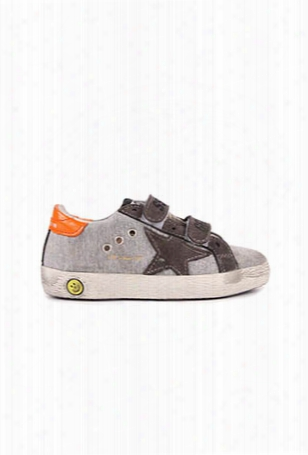 Golden Goose Old School Velcro Superstar Sneaker