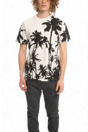Golden Goose Palm Print Tee