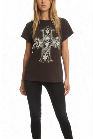 Madeworn Guns N' Roses Nail Head Tee