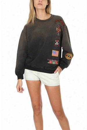 Madeworn Guns N' Roses Patch Sweatshirt