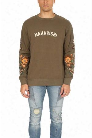 Maharishi 6162 Original Dragon Crew Sweatshirt