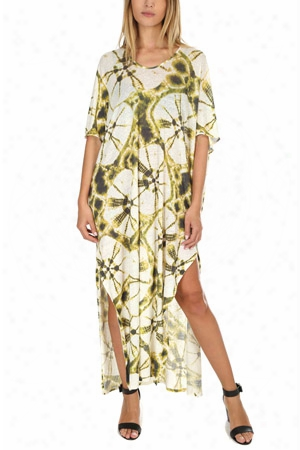 Majestic Filatures Lineen Tie Dye Maxi Dress