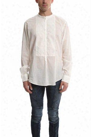 Massimo Alba Priest Collared Shirt