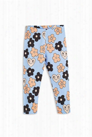 Mini Rodini Flower Leggings