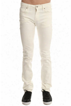 Naked & Famous Skinny Guy Ivory Power Stretch