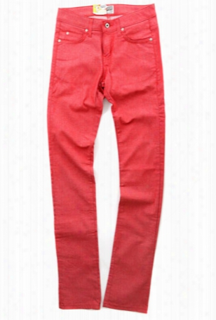 Naked & Famous Skinny Guy Red