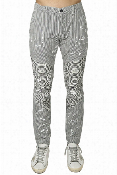 Nsf Harvey Painted Moto Pant