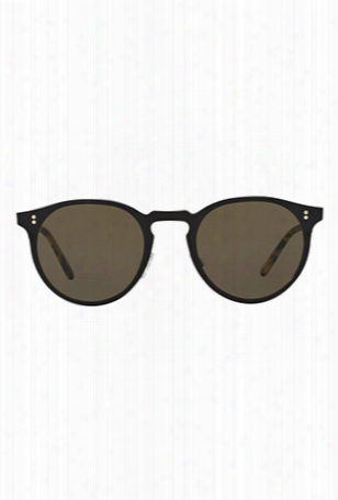 Oliver Peoples Elias Black Matte / Tortoise