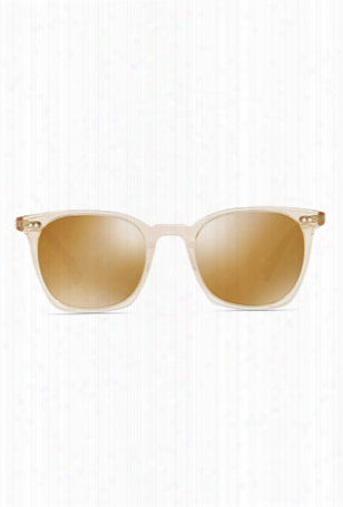 Oliver Peoples L.a. Coen Sun Buff + Amber Goldtone