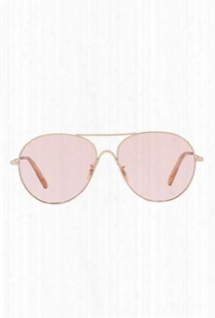 Oliver Peoples Rockmore Soft Gold Pink Wash
