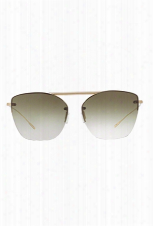 Oliver Peoples Ziane Soft Gold + Olive Gradient
