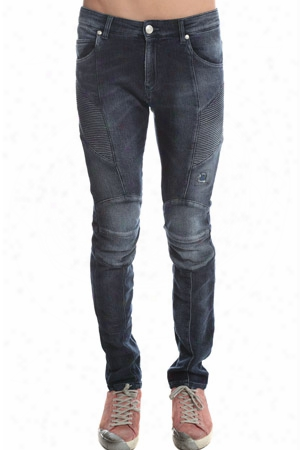 Pierre Balmain Fleece Moto Jean